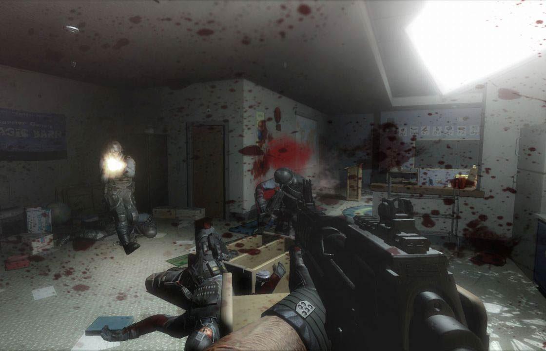 Игровая сцена в FEAR 2: Project Origin