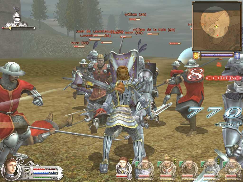 Игровой процесс в Wars & Warriors: Joan of Arc