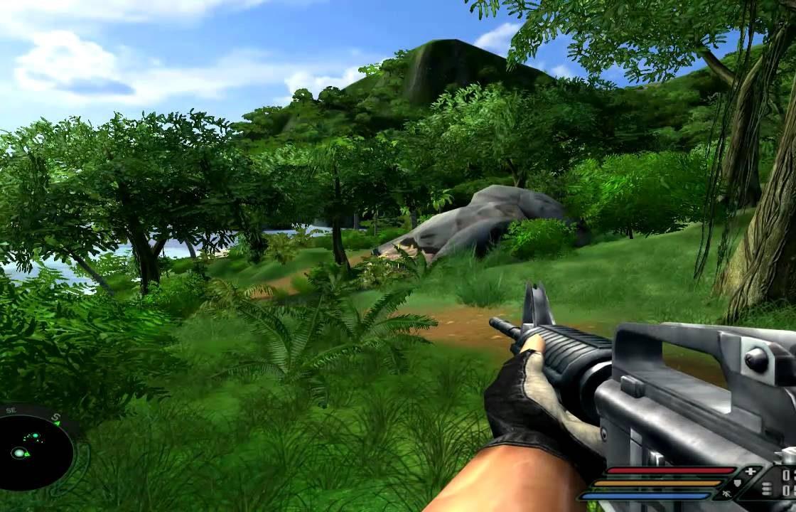Игровая сцена в Far Cry