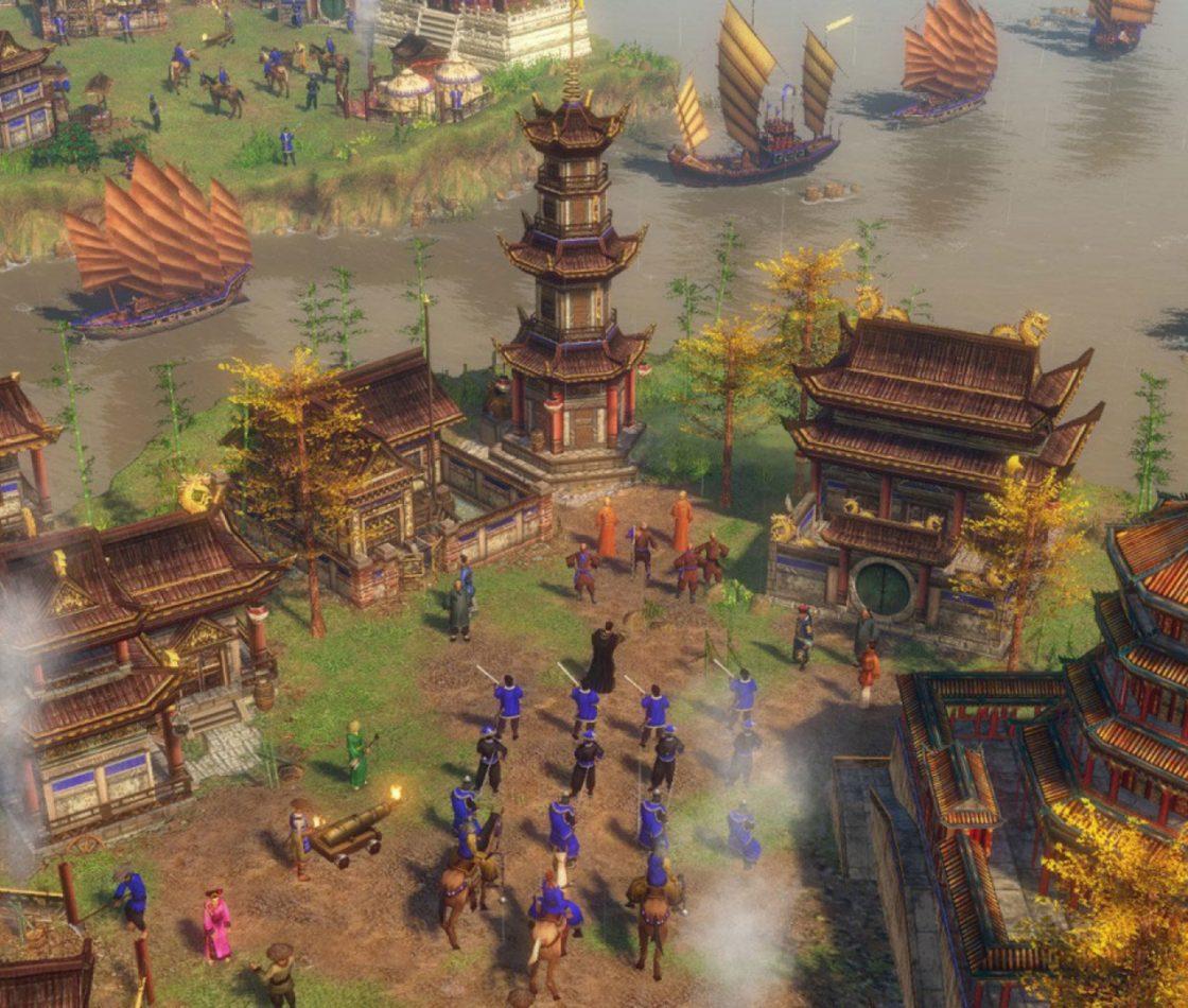 Игровой процесс в Age of Empires 3