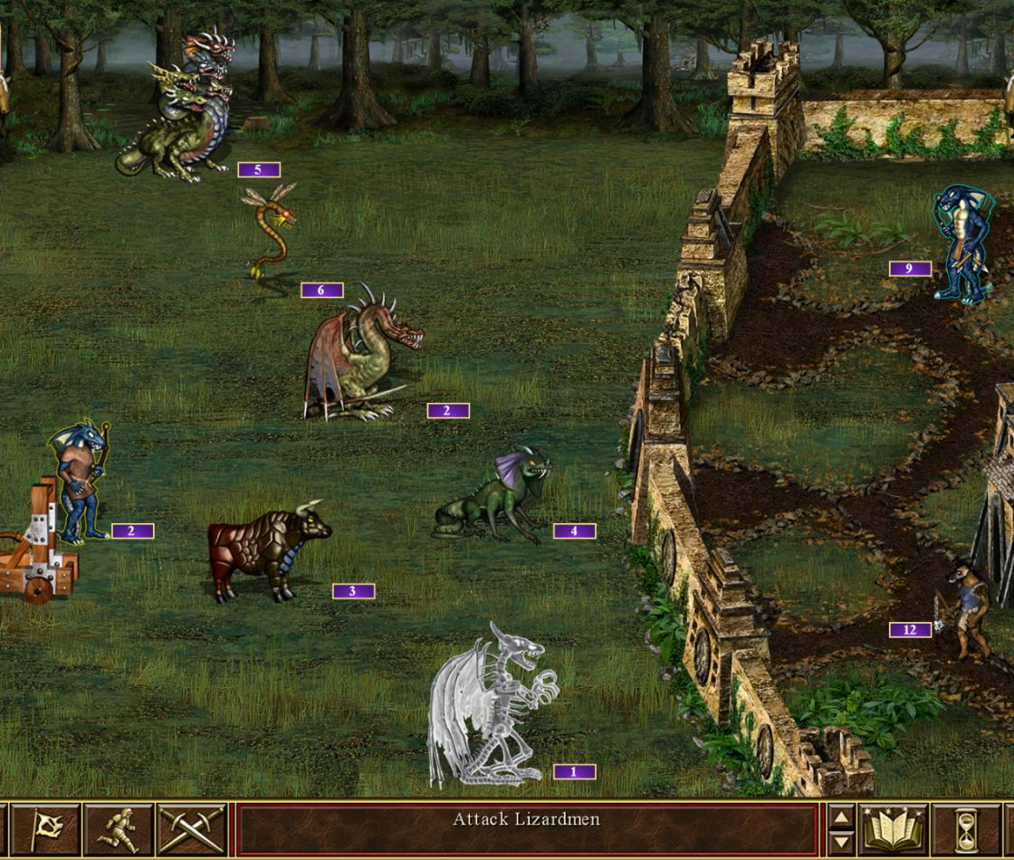 Игровой процесс в Heroes of Might and Magic III