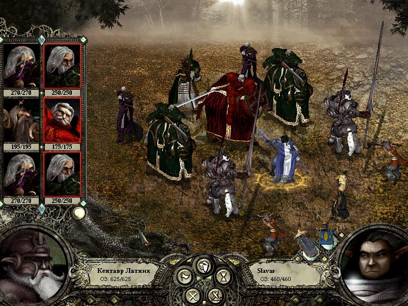 Бой в Disciples II: Rise of the Elves